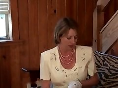 FULLBACK Undies - PANTY FUCK - CHURCH Lady IN FLORAL DRESS FUCKED
