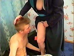 vene mom and boy