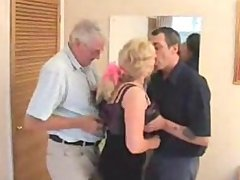 The Swinger Mature Couple With A Pal