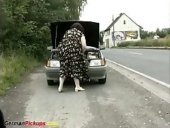 mother and daughter picked up for a porn lesson