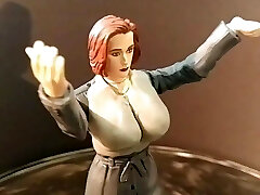 gillian anderson xfiles mänguasi fetish fantaasia sci skulptuurid wip