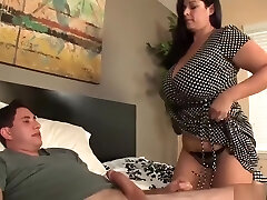 kuum ema raquel tahab teha meeste spurt tema tohutu