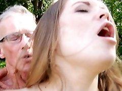 Big elder boner smashes nice a highly young sweet girl