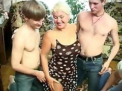 Mature wife gang-fucked