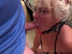 Scanty Lil Anal Granny Gets Used