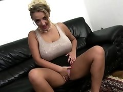 Immense breasted mommy fucks in POV style