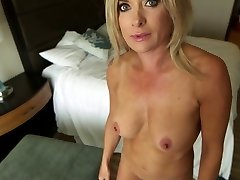 Mature Blond Milf Point Of View