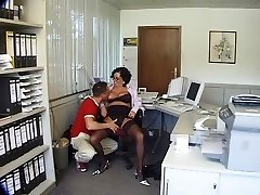 Mature Humped Supreme in the Office