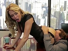 Divine blonde mommy Jessica Drake is nailed truly well