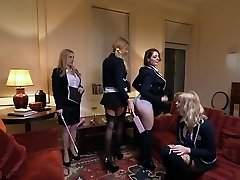 Best pornstars Georgie Lyall, Samantha Bentley and Lexi Lowe in fabulous lesbo, anal xxx tweak