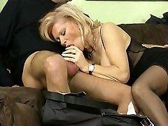 Seksi naine ja tema sõbrad