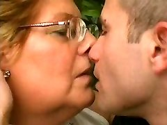 Chubby Granny Loves Younger Manmeat
