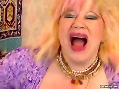 Chubby Grandma Enjoys Fisting and Fucknig