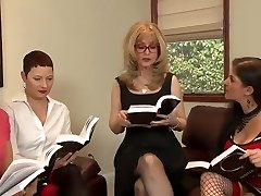 Great Lesbian Orgy By Insatiable Matures