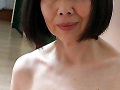 Asian Mature with Wondrous  Nipples