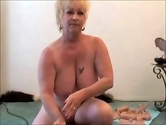 Du Grannies - Vienas Sybian - Močiutė squirts