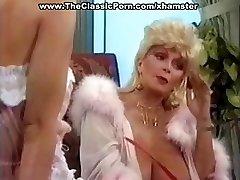Busty küps klassikaline blond star annab kuuma vintage suhu