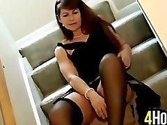 Milf Does A Striptease