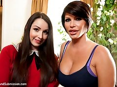 Sex and Submission's feature presentation of the month is an erotic masterpiece of forbidden fantasy with brand new Kink.com models Shay Fox and Lola Foxx.  These two incredibly sexy girls are perfectly casted for the roles of stepmother and 19 year old stepdaughter.
