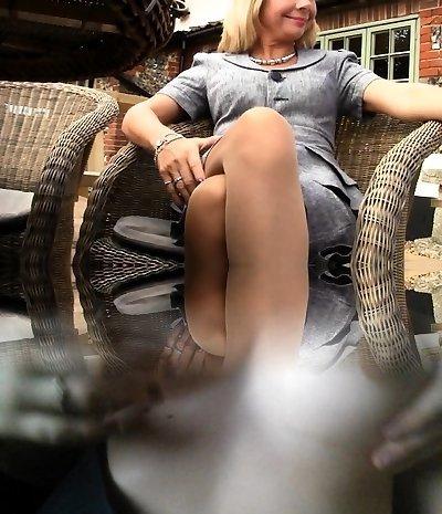 Braunen nylons in frauen Women's Sexy