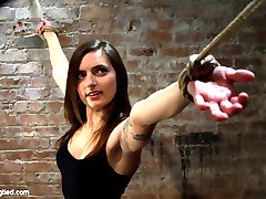 Welcome Missy Minks to Hogtied. Sometimes you just look at a girl and seriously think that this...