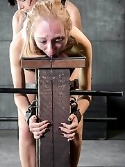 It's too much dick for Emma Haize to handle. Jack Hammer has 10 inches of big, black cock and every bit of it is buried inside of her, tearing her tight little pussy open like it's never had anything inside of it before. It's absolute agony, but at the same time she can't get enough of it. Feeling this full is something she wasn't prepared for, but she could get used to it.