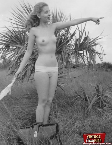 Girl nude vintage Hot Vintage