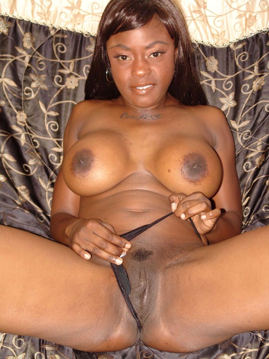 Big Booty Ebony Gets Pounded