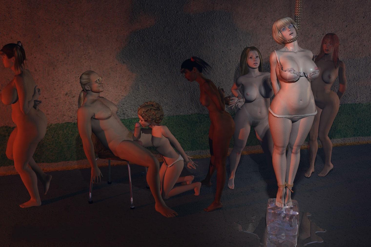 Bdsm porn 3d Violent Sex