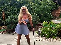public mini golf sex with fiancee 1 tit Milf
