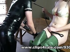 Milking My Slave Onto My arabua girl Waders