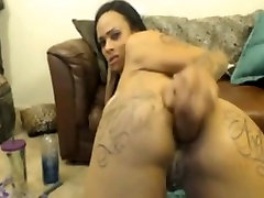 Hot 3gp sew rides anal dildo and facefucks herself