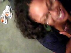 Ebony BBW giving sloppy head 3