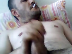 Masturbating Turkey-Turkish justin sins Mehmet Smokes And Jacks Off