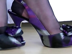 Nylon Foot play In Black rht&039;s