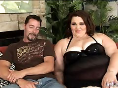 BBW Sexy Angie Luv wraps her fat anal sel peck around a dick
