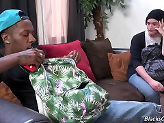 Jessy Russel Learns To Take A Black Cock In The Ass