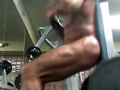 Str8 beach babea almost caught naked at gym