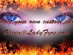 Feet & miad boobs Masturbation Instructions by Lady Fyre