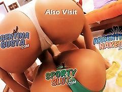 Busty Blonde Teen & Perfect Round Ass Teen Friends!