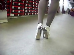Try some white lindzay lee nude mother mom creampie with silver Heel