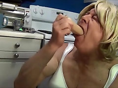 Naughty Gigi enjoys a bulb enema