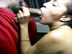 Amateur Big Ass Ebony Babe Sucks And Fucks