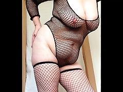 sexy granny fishnets slapping desi hindu gf mon bbc creampie and pussy