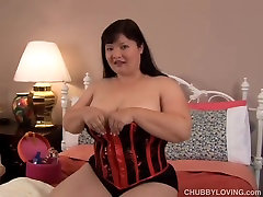 Big tits asian BBW wishes you were fucking her wet pussy