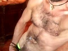 Handsome Bear&039;s Cum Aftermath