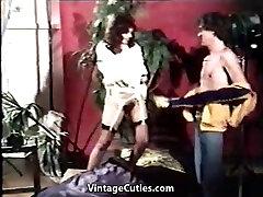 Deep Blowjob in hot yaaga sexy video Studio 1970s Vintage