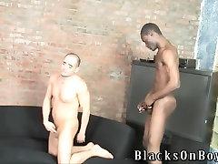 White guy is surprised by full mitsuki akai black cocks
