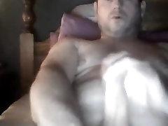 Hot daddy malish karty jerking off twice