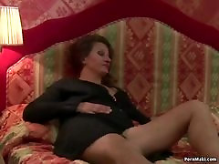 Anal fuck with hairy granny